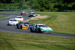 NASCAR K&N Pro Series East race at Lime Rock Park in Connecticut