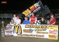 The victory at Fremont Speedway tells the crew and Andrews that they are finally getting back on the winning track for the rest of the season.