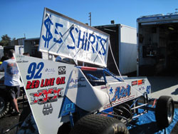 The 92 car wasn't only way faster than everyone else at its debut in Petaluma, it also pulled in some spare change between races.