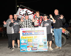 That's right, count'em, K&N sponsored Andy Forsberg now has five Civil War Championships.