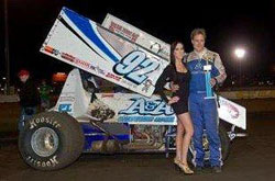 Forsberg also got a 410 win in Chico in the A&A Motorsports no. 92.