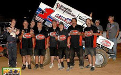 Count them out loud, it's nine wins for Forsberg Racing in 2012, but the year isn't over yet.