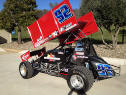 Andy Forsberg Family #92 Sprint Car