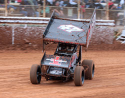Andy Forsberg looks for his fifth Civil War Series Sprint Car Championship in 2010