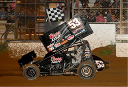 Andy Gregg now third in Wing 360 Sprint standings after Placerville Speedway win
