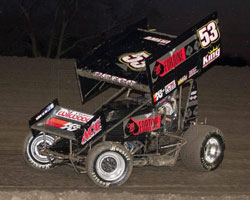 In the debut of his personal Guts Racing No. 53 Gregg finished 2nd.