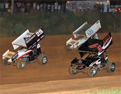 Silver Dollar Speedway hosts 410 Sprint Car Points race in Chico, California