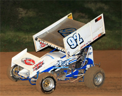 No. 92 wins a 360 points race on the quarter mile ASA Sanctioned Placerville Speedway in Placerville, California