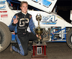 K&N supported racer Andy Forsberg had his best finish at the 16th Annual Trophy Cup Race at Thunderbowl Raceway in Tulare, California
