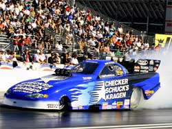 Team Worsham's CSK Blue Car