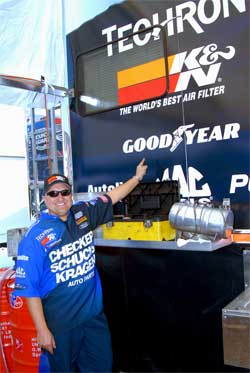Jeff Arend ready for NHRA POWERade Tour with K&N