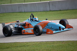 Greist spent several years in the Skip Barber Race Series, where the Madison native won three series championships.