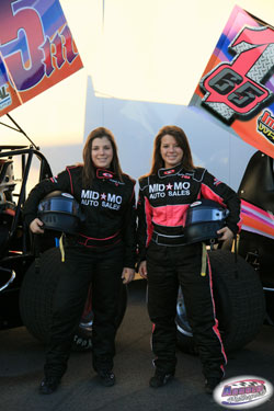 Miranda and Haley say they are proud to be asked to be onboard with K&N, their products have always spelled good luck for the racing sisters in the past.