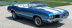 1971 Classic Oldsmobile Cutlass Convertible - Customized 442 Hurst Olds clone with a 455.