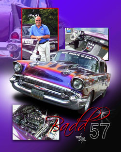 Dan Longenette's Badd 1957 Chevy Bel Air