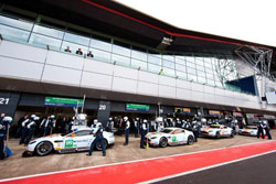 The four car Aston Martin Racing team exceeded expectations at Silverstone, prompting Team Principal, John Gaw, to admit that this bodes well for the team's championship drive.