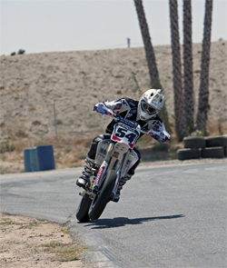 AMA Supermoto National Champion Darryl Atkins will ride in X-Games 15