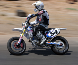 Darryl Atkins will compete against riders like Carey Hart, Mark Burkhart and Brandon Currie in the quest for Supermoto Gold