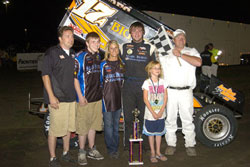 The entire T-MAC Motorsports Inc., team worked exceptionally hard for this win.
