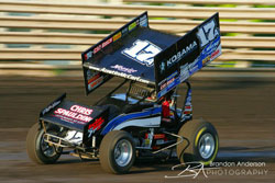 Austin McCarl and the TMAC Motorsport #17A Sprint Car