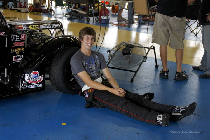 Austin Reed Gears Up To Race In Uslci Legend Car National Event