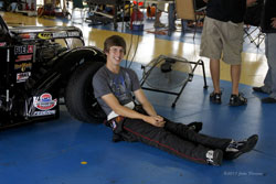 A senior and honor role student at Frontier High School, in Bakersfield, California, Austin Reed was introduced to racing whgile watching his father at an early age, and has pursued the sport as a driver.
