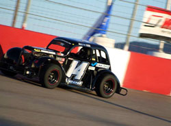 Austin Reed recently earned a checkered flag during his second career road course race.