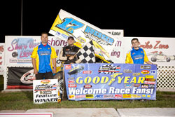 The win at Oshkosh was Balog's second of 2010 and his ninth career IRA victory.