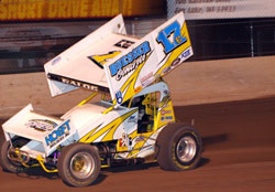 The win at Beaver Dam Raceway keeps intact the teams 14 straight IRA top-five finishes.