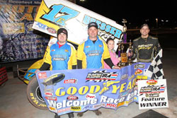 Balog's sixth IRA win of the year tasted even sweeter with his parents there to see it.