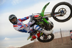 Tyler Bowers' proved his leadership skills during the 2013 AMSOIL Areneacross series in 2013.