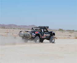 No 703 Torchmate Ranger entered a class in the Baja 1000 with 8 other trucks, only two trucks finished the loop race of 672 miles
