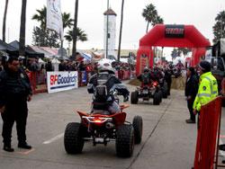 Nick Nelson preparing for the SCORE Baja 1000 race