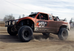 The K&N Sponsored No. 22 Trophy Truck finished every mile of every race in the 2008 SCORE Trophy Truck Series