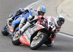 Aprilia RSV1000R rider Chaz Davies scored one of his best finishes this season at the Daytona SportBike Race