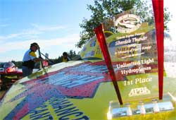 First Unlimited Light Hydroplane Racing Association Victory in Silverdale, Washington