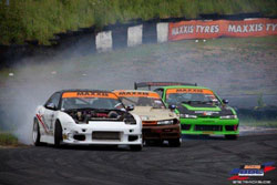 The Team Triple Drift event during Round 3 at the Teesside,Autodrome surpassed all excitement expectations.