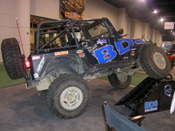 BDS Suspension 1997 Jeep TJ is equipped with K&N