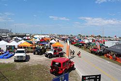 Jeep Beach 2016 at Daytona International Speedway