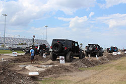 Jeep Beach 2016 man made obsticle course