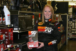The Bell Family Race Team kicked off 2010 by making two appearances for K&N at Pep Boys Speed Shop grand openings.