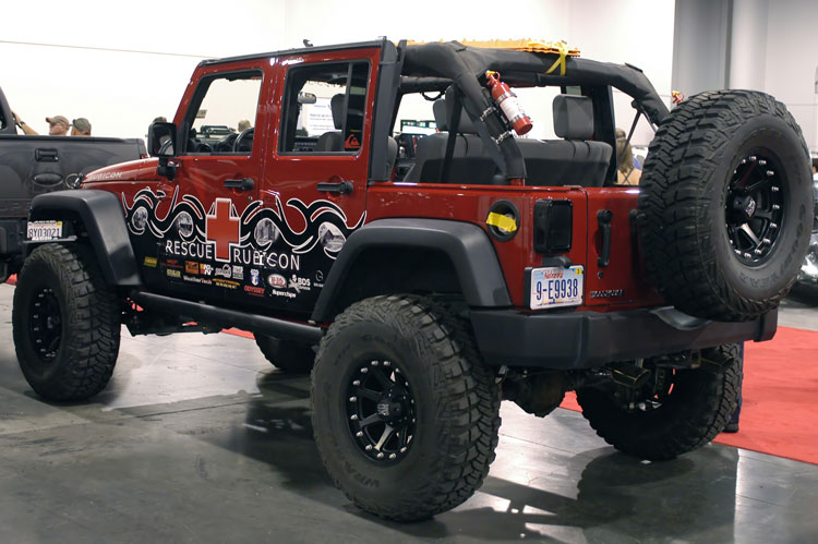 Jeep Wrangler Unlimited Lifted >> Project Rescue Rubicon - Ben and Nicki Parker's - 2010 ...