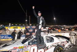 Ben Kennedy wins NASCAR K&N Pro Series East race NAPA 150 at Five Flags Speedway