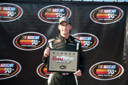 Ben Kennedy won the Coors Light Pole Award at NAPA 150