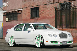 Custom 1998 Lexus GS400 with 2006 Bentley GT front end