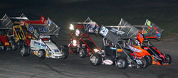 Cabral followed up on his win at Seekonk by winning a fourth-straight 25-lap Northeastern Midget Association event at Twin State Speedway.