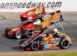 Cabral and Stoehr battled on, at times only inches apart in the final race at Thompson Speedway, yet Cabral remained focused on the big picture, avoiding contact and clinching the 2011 NEMA Title.
