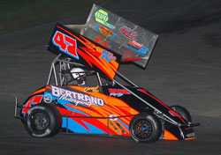 The first win of the season for Bertrand Motorsports' Randy Cabral came at Seekonk Speedway, his home track.