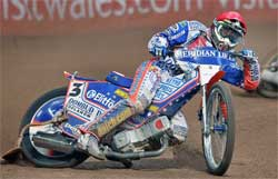 Jason Crump is now second place overall in the 2008 World Championship Grand Prix Standings