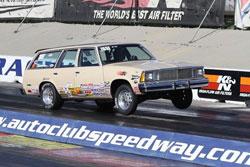 Big Mac Racing's Daniel McClelland got a big win and semi final finish at Auto Club Speedway in Fontana.